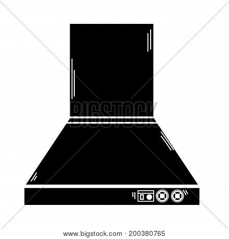 contour technology odor extractor kitchen utensil vector illustration