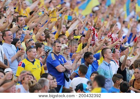 Uefa Euro 2016 Game Ukraine V Poland