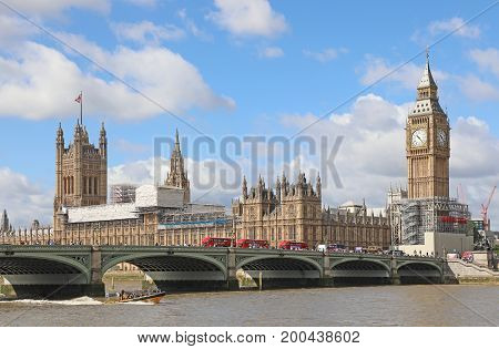 20th August 2017  London. Theresa May has stepped into the row surrounding plans to silence  Big Ben for 4 years as restoration work begins on The Palace of Westminster. Big Ben will fall silent tomorrow for the first timein 157 years.