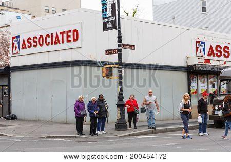 Manhattan Street Scene