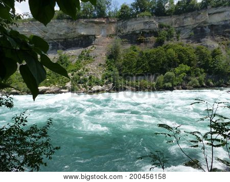 rapids from the white water walk location: niagara falls, ontario date: 09/08/2017