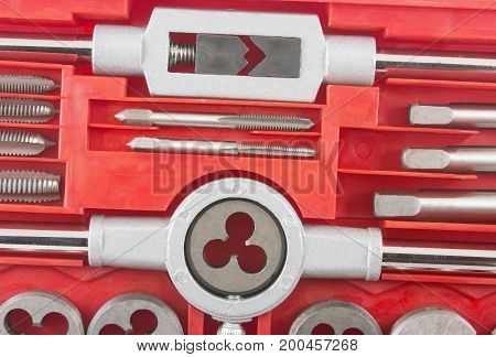 Kit of tools for repair of technique