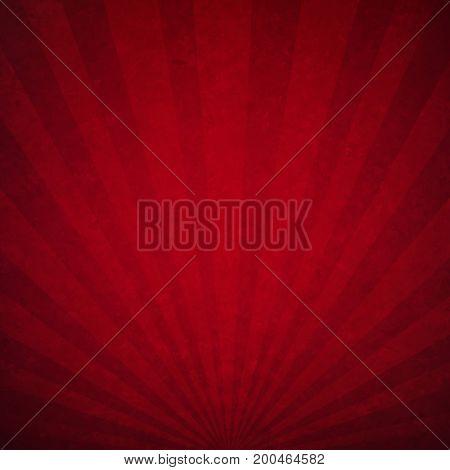 Red Luxury Sunburst Background