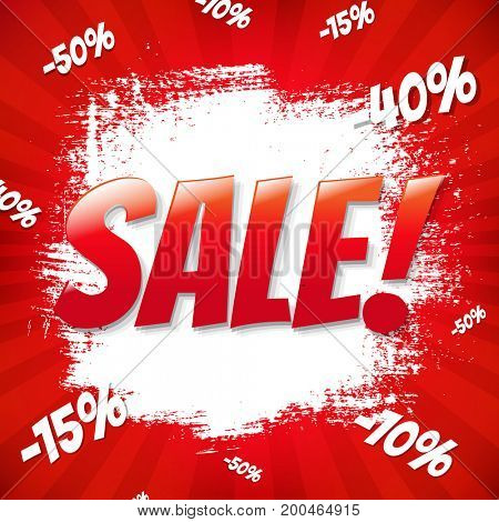 Red Sale Blot