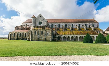Abbey in France Pontigny the former Cistercian abbey in France one of the five oldest and most important monasteries of the order