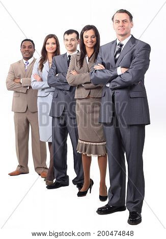 professional business team.photo in full growth