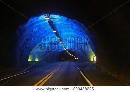 Laerdal Tunnel Norway