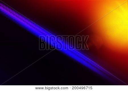 Diagonal purple line with light leak illustration background hd