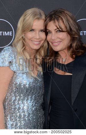 LOS ANGELES - AUG 16:  Andrea Schroder, Kelly Le Brock at the
