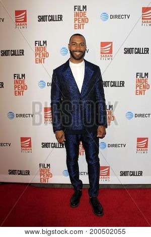 LOS ANGELES - AUG 15:  Omari Hardwick at the