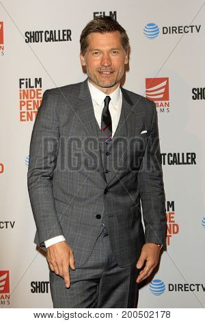 LOS ANGELES - AUG 15:  Nikolaj Coster-Waldau at the