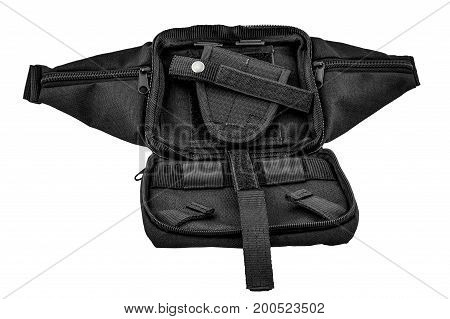 City tactical bag for concealed carrying weapons without a gun inside