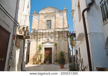 Church of St. Giuseppe. Castellaneta. Puglia. Italy.