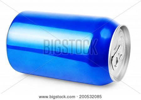 Blue Metal Aluminum Beverage Drink Can 500ml
