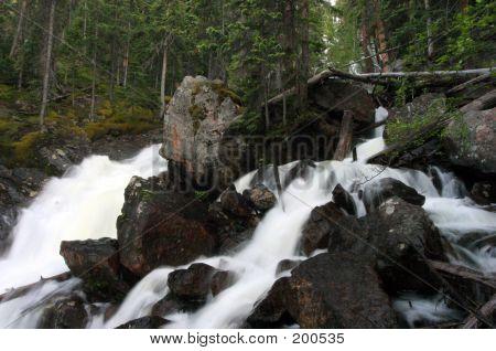 Cataract Creek Waterfalls 1