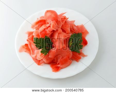 Ginger Spice For Sushi Rolls Japanese Food
