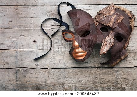 Masquerade And Disguise For Theater And Masked Ball