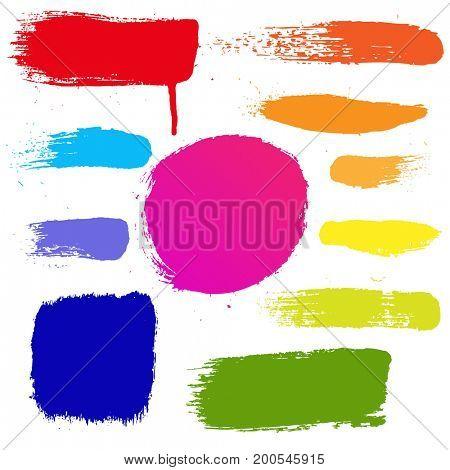 Colorful Blots Set