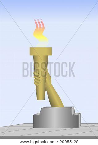 Torch.