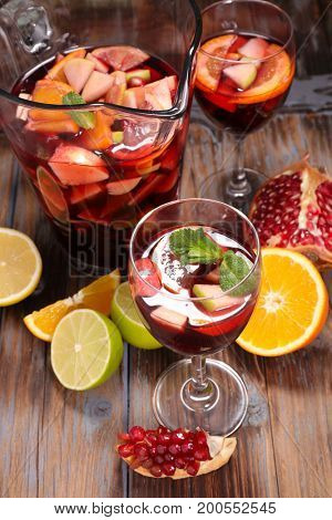 sangria or punch
