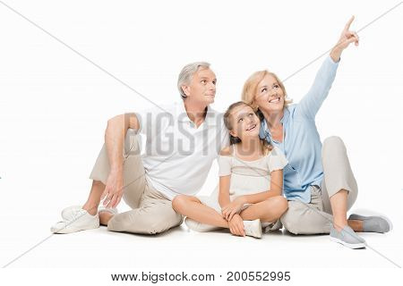 Grandparents And Child