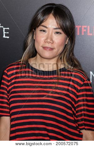 NEW YORK, NY - AUGUST 17: Producer Miri Yoon attends the 'Death Note' New York premiere at AMC Loews Lincoln Square 13 theater on August 17, 2017 in New York City.