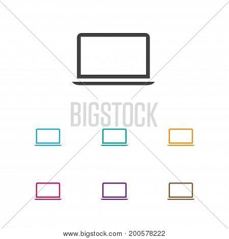 Vector Illustration Of Instrument Symbol On Laptop Icon