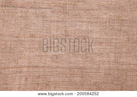 Gray linen texture for background. White linen canvas. The background image, texture. Top view and copy space. Mock up