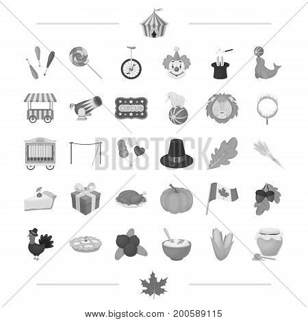 vegetables, cooking, nature and other  icon in black style.games, clownery, price, icons in set collection.