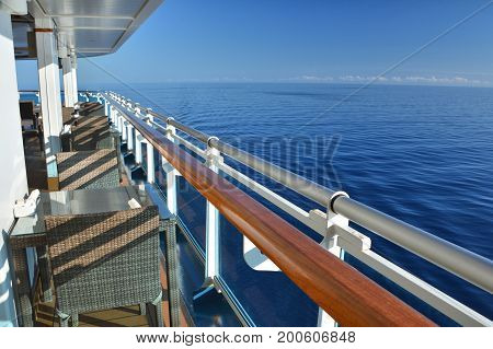 Restaurant Tables On Cruise Ship