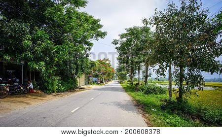 Mountain Road In Northern Vietnam