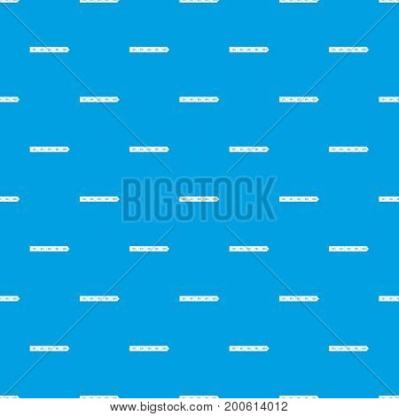 Percentage arrow infographic pattern repeat seamless in blue color for any design. Vector geometric illustration