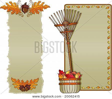Autumn Frame Assortment Vertical