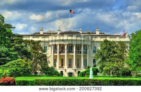 The White House in Washington, DC. United States