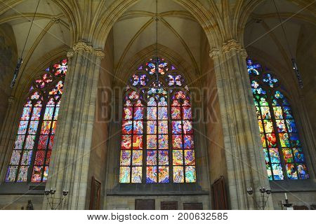 Stained Glass Windows Cathedral