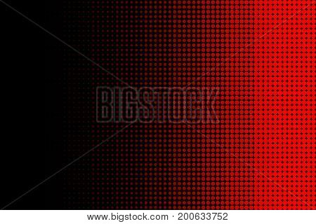 Red Linear Dotted Halftone Abstract Pattern Background