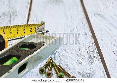 Measurement Tools And Screws - Macro Capture