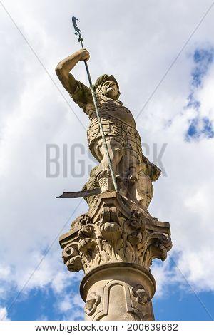 Statue In Zittau
