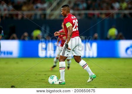 Real Madrid V Manchester United: Uefa Super Cup