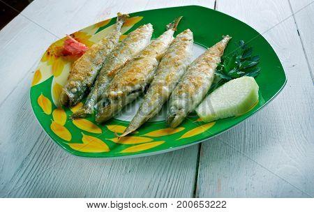 Roasted Smelt Fish