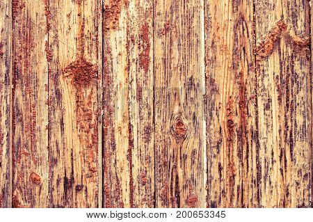 old vintage wooden background with vertical boards. Shabby chic French Provence style