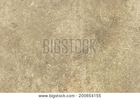 The texture of the concrete floor. A background of shabby chic