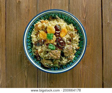 Parcha-doshama  - Sweet Pilaf
