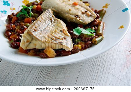 Weeknight Cod Fish Feijoada