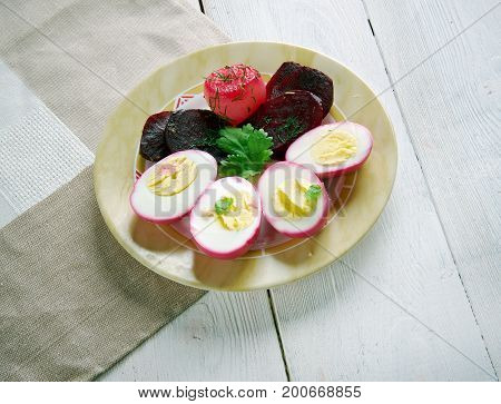 Pennsylvania Dutch Pickled Beets