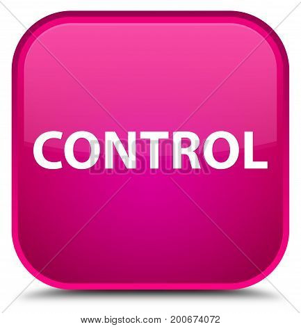 Control Special Pink Square Button