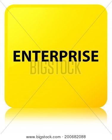 Enterprise Yellow Square Button