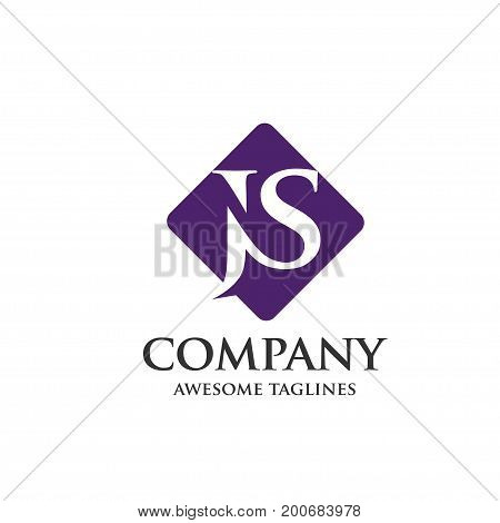creative concept of letter J and S, J, S, Letter J,js letter vector