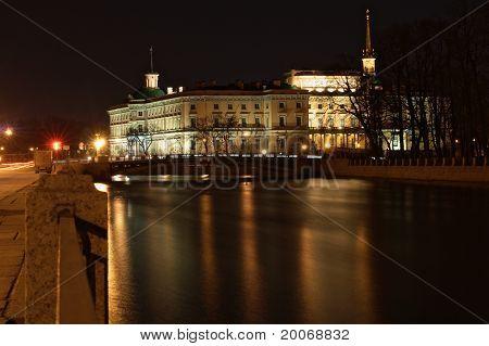 The Mihajlovsky Lock