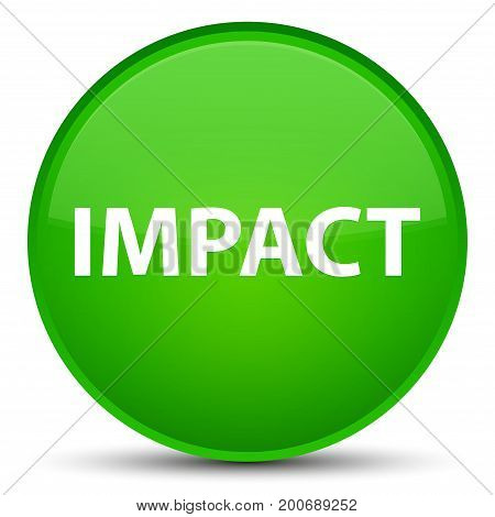 Impact Special Green Round Button